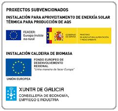 proxectos subvencionados